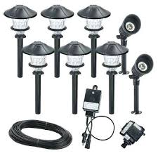 Led Low Voltage Landscape Lighting Kit Home Depot Led Low Voltage Landscape Lighting