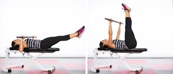 Leg Lift Bench 9 Exercises You Didn U0027t Know You Could Do With A Barbell