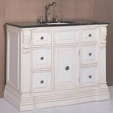 antique white bathroom vanity u2014 interior exterior homie