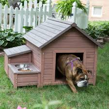 boomer u0026 george a frame dog house with food bowl tray and storage