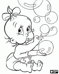 baby playing bubbles coloring bjl digis