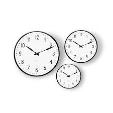 Wall Watch by Arne Jacobsen Station Wall Clock 21 Cm U2013 Rosendahl Dk