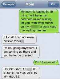 Funny Texting Jokes - hilarious texts show what happens when you send a message to the