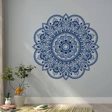 online get cheap india wall murals aliexpress com alibaba group wall decal mandala yoga lotus flower ornament designs decor murals yoga studio india meditation bedroom bohemian
