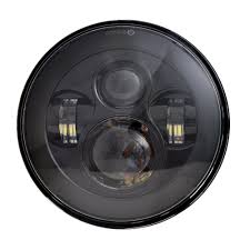 jeep wrangler 4 door silver amazon com dot approved 7 u0027 u0027 black daymaker led headlights 4