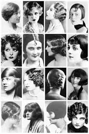 names of 1920s hairstyle 1920 s hairstyles a collection of 1920 s the vintage thimble