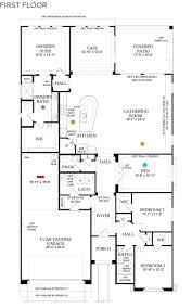 Park Model Floor Plans by 3 Bedroom 2 5 Bath New Homes In Las Vegas By Pulte Skye Canyon