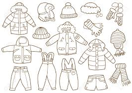 55 winter clothes coloring page coloring pages pdf archives
