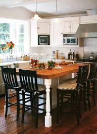 wood kitchen island table high chairs for island table kitchen design islands with seating