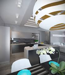 Modern Home Interior Decoration by A Pair Of Modern Homes With Distinctively Bright Color Themes