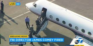 comey leaves la in a mississippi jet