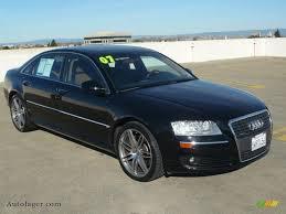 2007 a8 audi 2007 audi a8 l 4 2 quattro in brilliant black 001590 auto