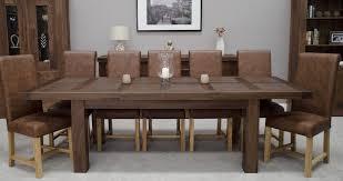 extending dining tables the best extending oak dining table
