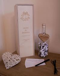 large wedding guest book large message in a bottle alternative guest book