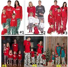 2017 family pajamas parent child sleepwear