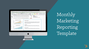 seo monthly report template monthly marketing reporting template free