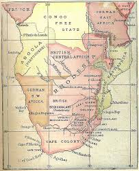 Map Of Southern Africa by Map Of Rhodesia Rhodesia Northern Rhodesia U0026 Southern Rhodesia