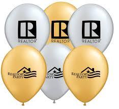 metallic balloons realtor 11 inch metallic balloons special order rts5113