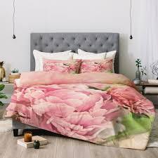 Pink Peonies Bedroom - lisa argyropoulos pink peonies deny designs