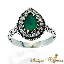 emerald silver rings images Emerald rings jewelry store boutique ottoman jewelry store jpg