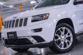 jeep summit interior pre owned 2014 jeep grand cherokee summit suv in warrenville
