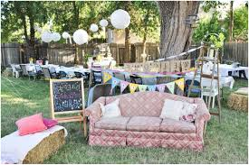 backyards fascinating easy and low cost wedding decorations make
