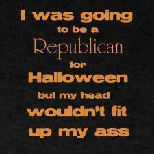 Republican Halloween Meme - bartcop s most recent rants political humor and commentary