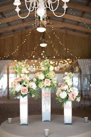 contemporary rustic wedding decorations metal centerpieces vase