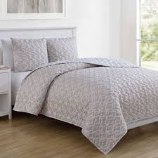 Taupe Coverlet Buy Taupe Quilt Set From Bed Bath U0026 Beyond