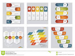 Idea Website Collection Of 6 Design Template Graphic Or Website Layout Vector