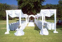 wedding arches to hire cape town chrisna s function hire wedding coordinator brackenfell cape town