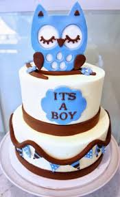 owl cakes for baby shower blue owl baby shower probably my favorite boy cake so far best
