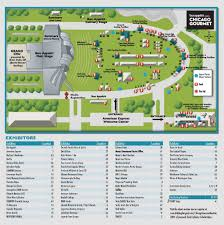 Green Line Chicago Map by Chicago Gourmet 2015 Plan Your Day Show Me Chicago