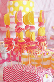 Pink And Yellow Birthday Decorations Best 25 Pink Lemonade Party Ideas On Pinterest Brunch Party