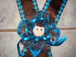 corsage de baby shower photo pin modern cake image