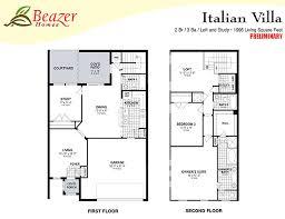 italian villa floor plans sumerlin floor plans