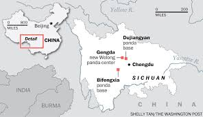 Chengdu China Map by China Is Changing But Its Love Of Pandas Isn U0027t The Washington Post