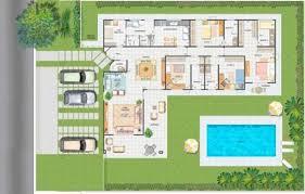 Amado 14 modelos de plantas para sítios com varanda e piscina @BE88