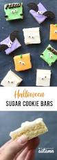 halloween sugar cookie bars so fast easy it u0027s always autumn