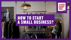 how to start a small business youtube