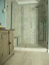 photos hgtv neutral tile shower with forest view idolza