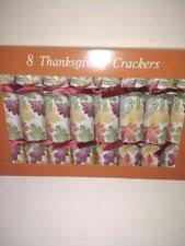 thanksgiving crackers favors poppers thanksgiving