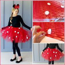 tutu spirit halloween diy minnie mouse costume yep no sew tulle tutu heat transfer