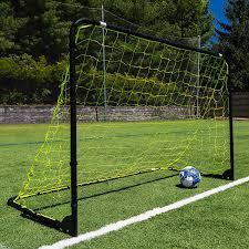 amazon com franklin sports premier black folding steel soccer