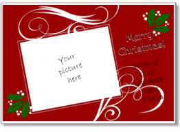 free printable christmas cards with own photo free online printable christmas card templates fun for christmas