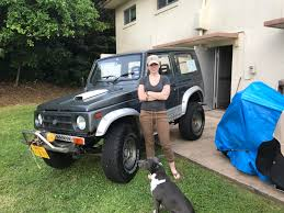 jimmy jeep suzuki my wife just bought her first 4x4 1992 suzuki jimny can u0027t wait