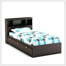 twin bed with bookcase headboard and storage twin bed no headboard twin bed frame and headboard image of