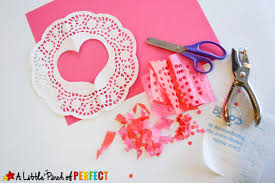heart doily tissue paper heart doilies s craft for kids