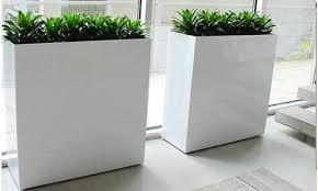 custom metal planters custom large plant containers u2013 pots