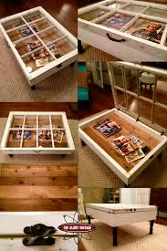 reclaimed window coffee table i gotta find me some of these